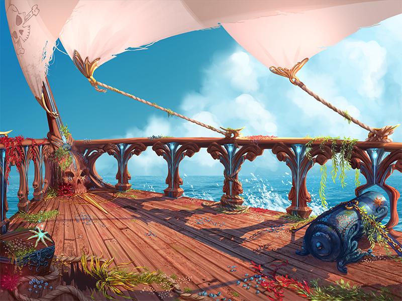 Bateau du roi des pirates